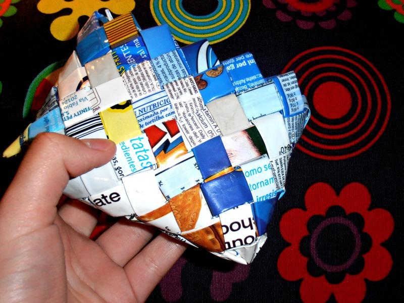 Objetos hechos con materiales reciclados   Comparte tus ideas